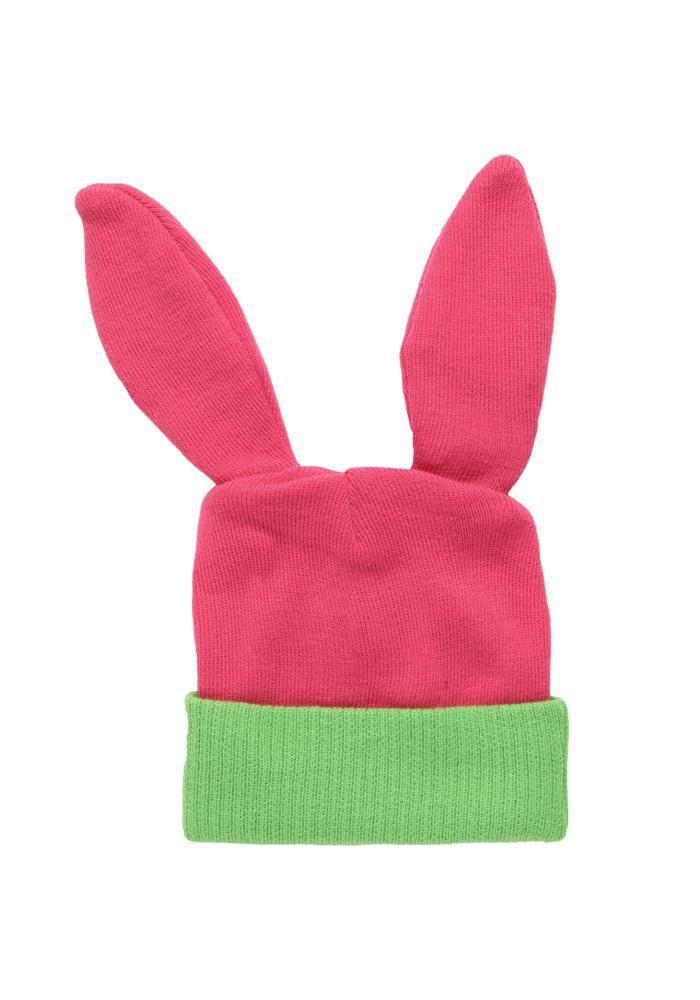 13686e509 BOB'S BURGERS Louise Rabbit Ears Beanie | Products | Rabbit ears ...