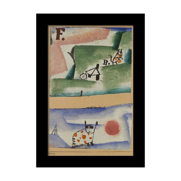 Paul Klee Tomcat/'s Turf Fine Art Print//Poster