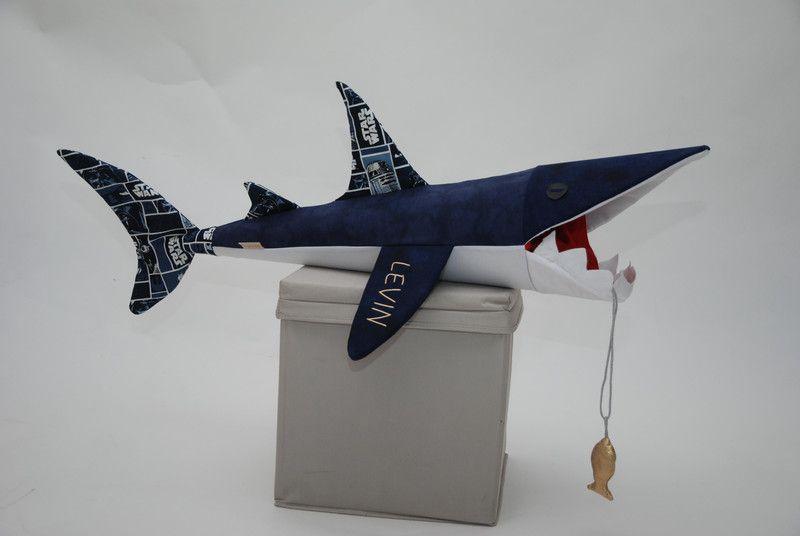 Schultüte Hai blau/Star Wars von lisifrey auf DaWanda.com ...