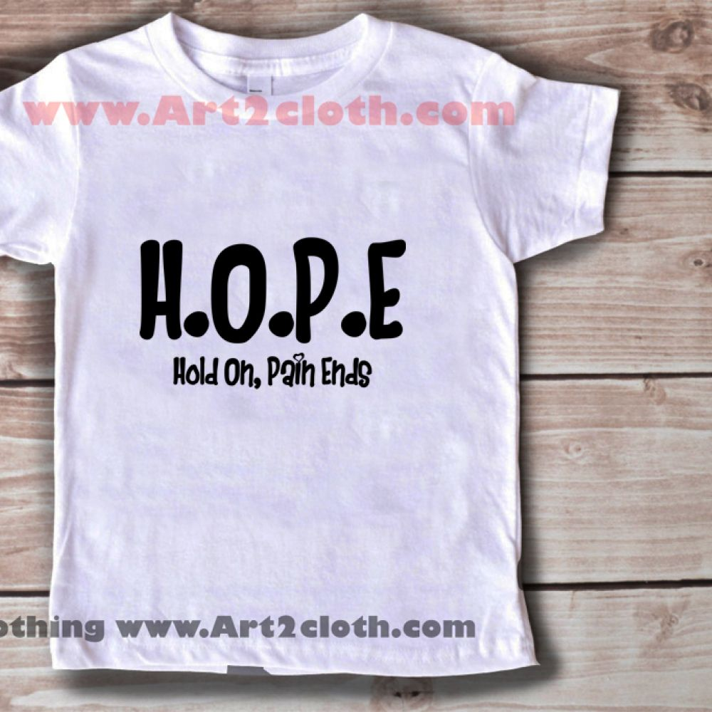 6275ae45 Kids Clothes Funny Quote Hold On, Pain Ends Tumblr //Price: $19.00 //  #FashionMens