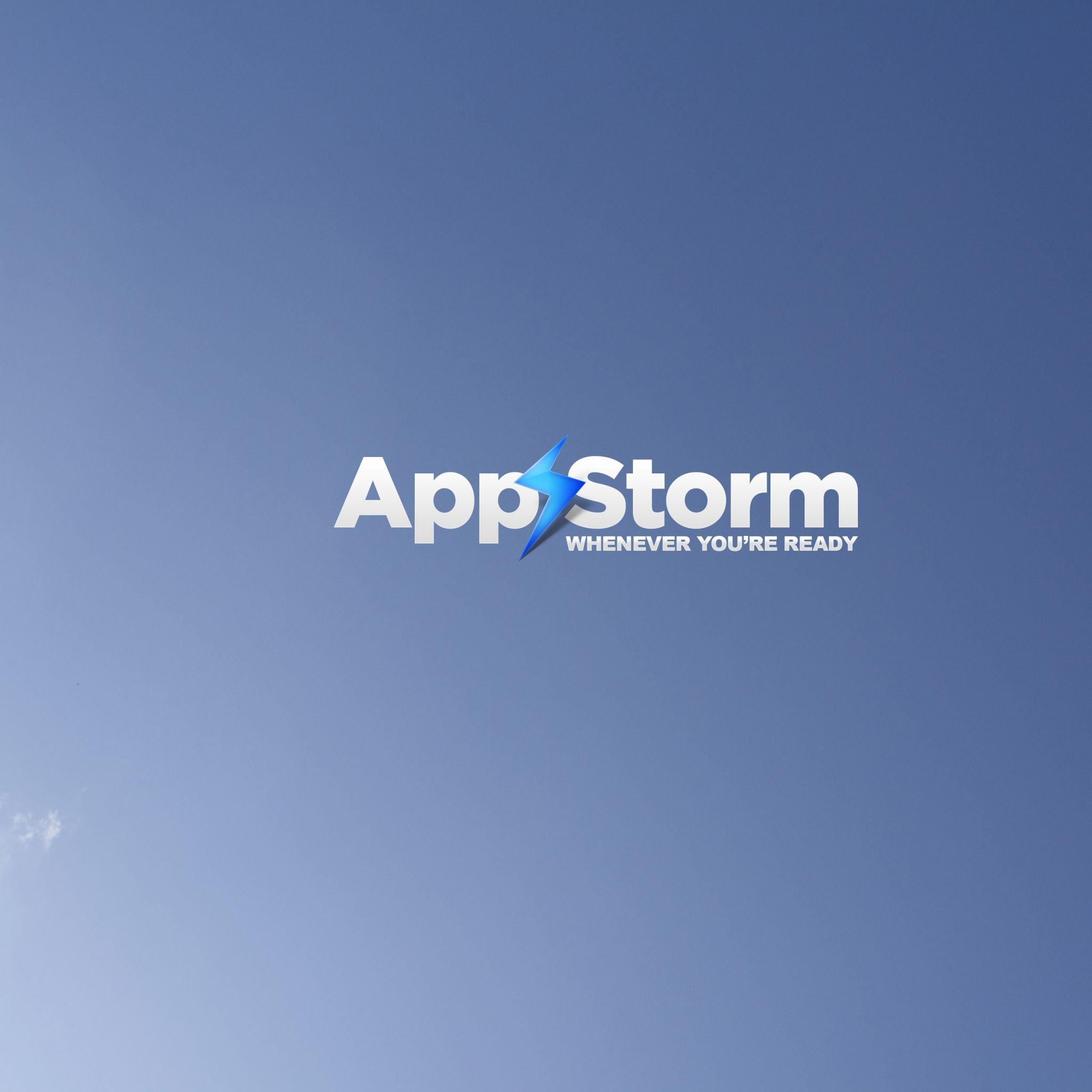2048x2048 wallpaper app storm, apple, mac, sky, blue, white | apple