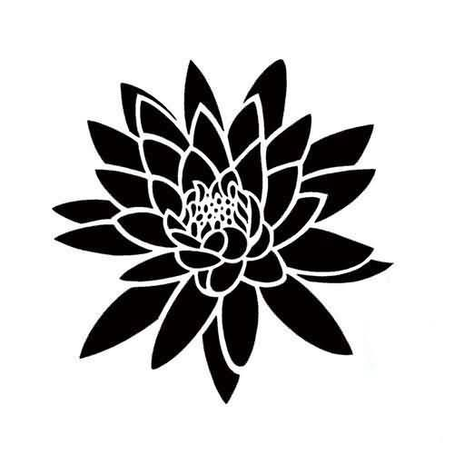 2db739c572 Aliexpress Exquisite Style Creative Water Lily Tattoo