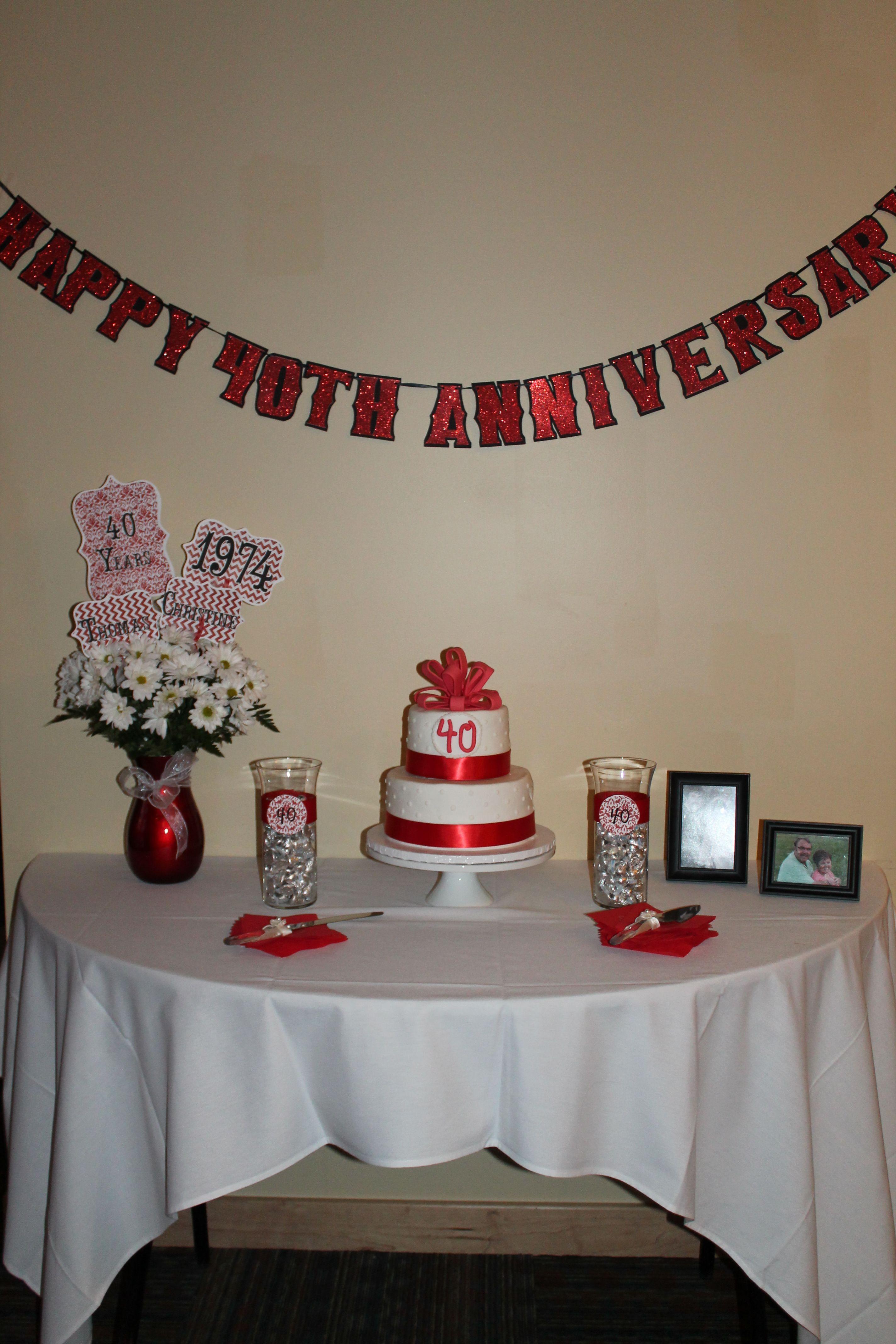 anniversary dinner party ideas