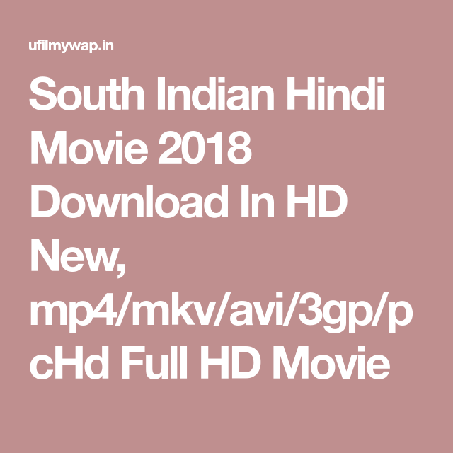 New picture 2020 south movie in hindi download 3gp