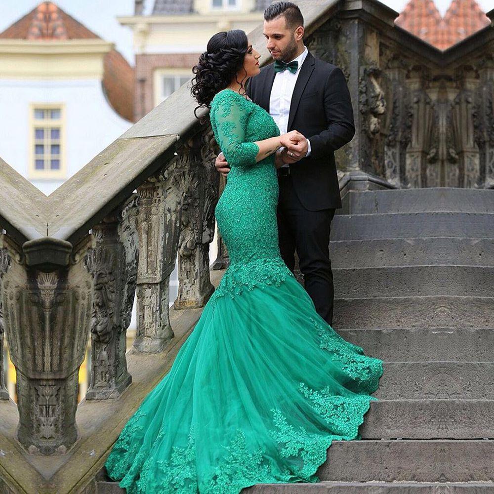 robe-mariage-Mermaid-Lace-font-b-Wedding-b-font-font-b-Dresses-b ...