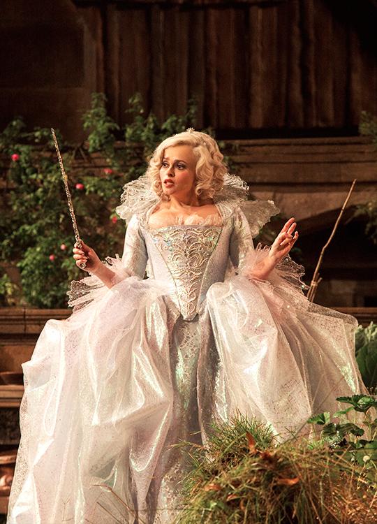 Helena Bonham Carter In Cinderella 2015 Cinderella Fairy Godmother Cinderella Movie Fairy Godmother Costume
