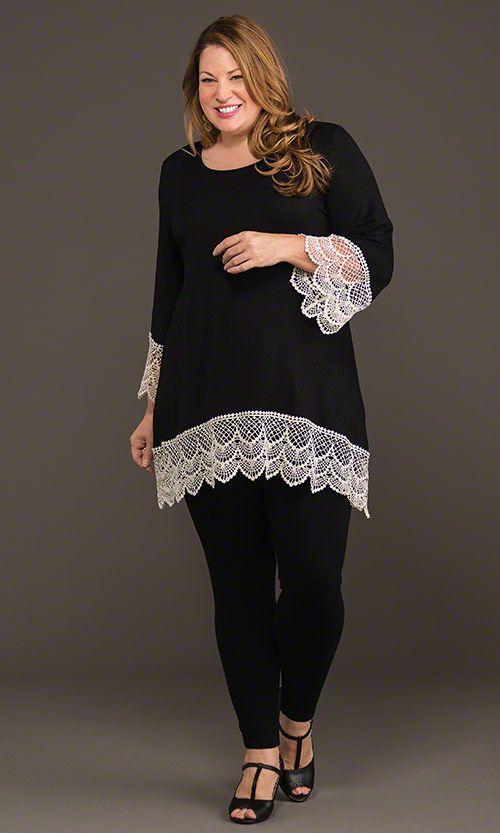 Lafayette Lace Tunic & Leggings / MiB Plus Size Fashion for Women ...