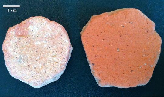 Los antiguos romanos usaba cerámica higiénica para limpiar sus traseros