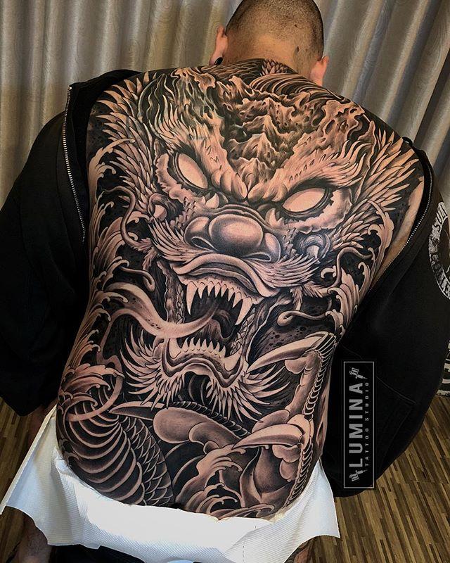 D R A G O N done lumina_tattoo_studio 🙌 Hình xăm, Hình