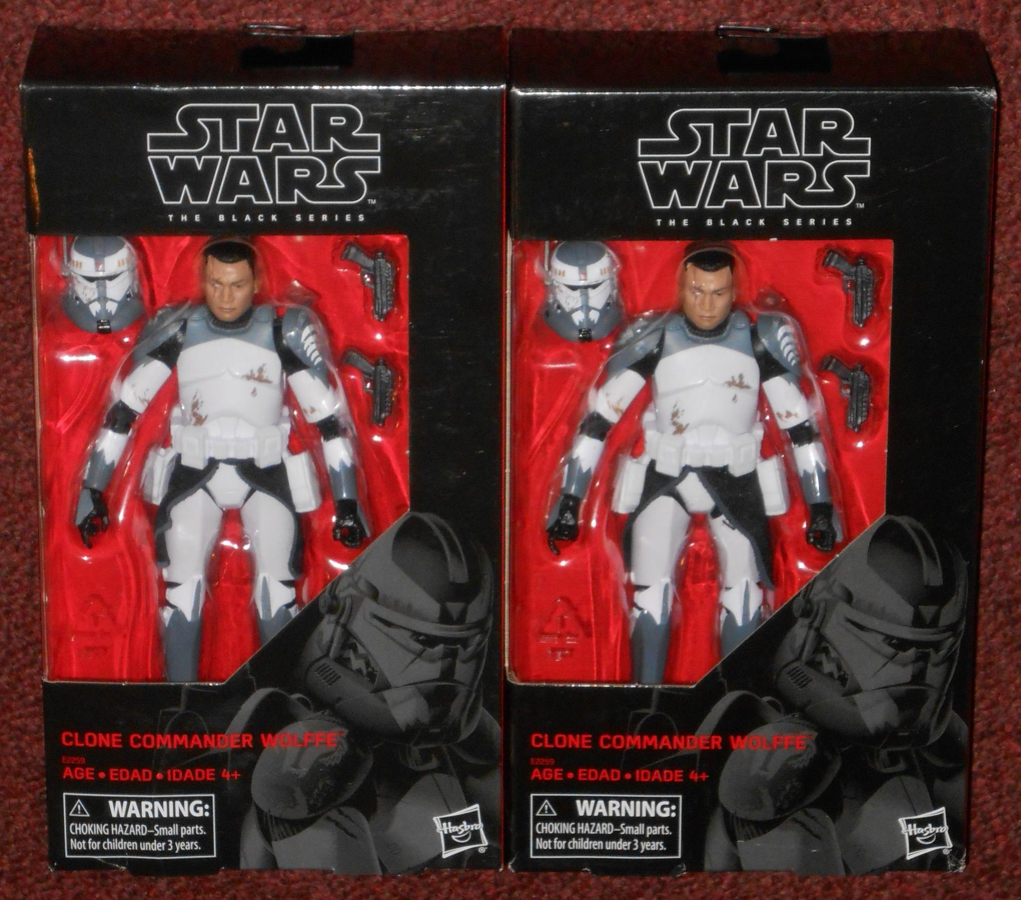 Star Wars-The Black Series-Clone Commander Wolffe