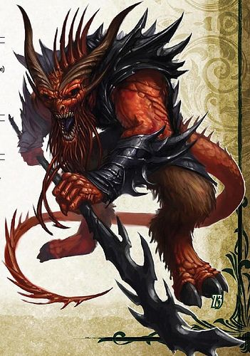 Pathfinder Bearded Devil | cool/funny/interesting ...