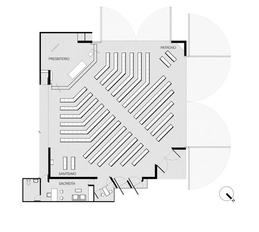Planta piso genero iglesia pinterest pisos templo y for Mobiliario para planos