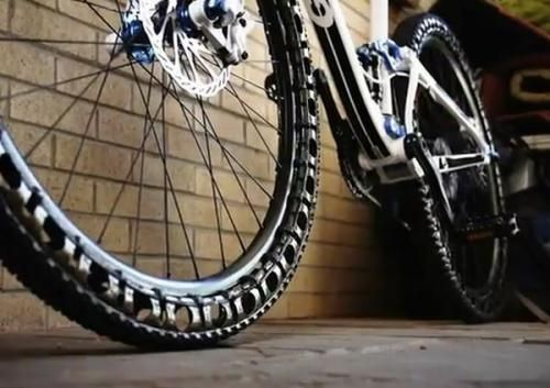 Airless Wheels For Mountain Bikes May Ditch Patches And Pumps W
