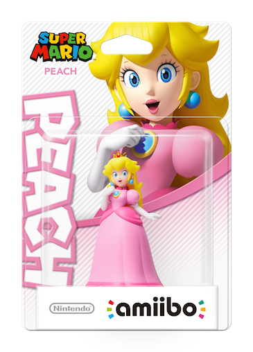 Amiibo Peach (Super Mario Collection) WII U Référence