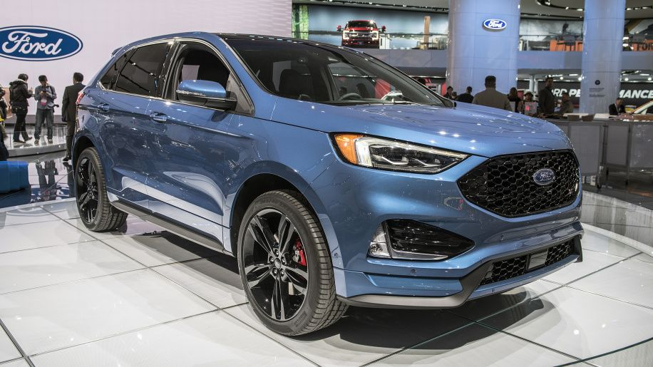 2019 Ford Edge St Detroit 2018 Photo Gallery