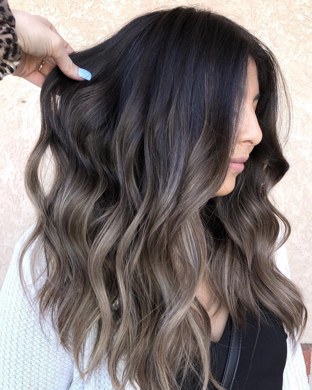 Idea By Ally Qing On Hair Brunette Hair Color Hair Highlights