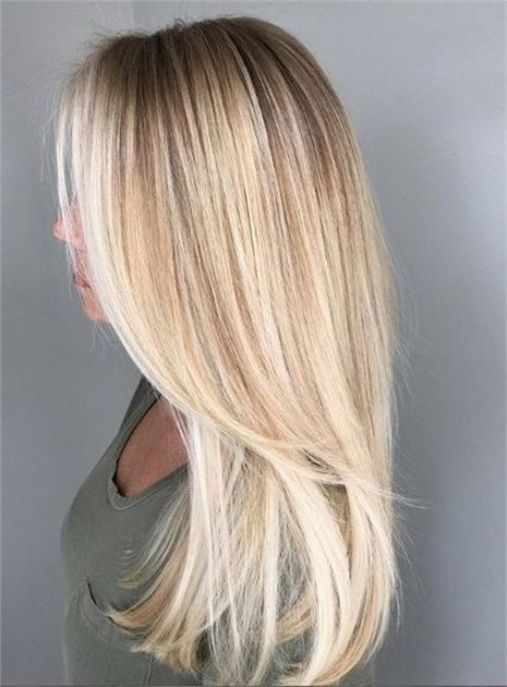 Schöne blonde Farbe – Nagel Blog