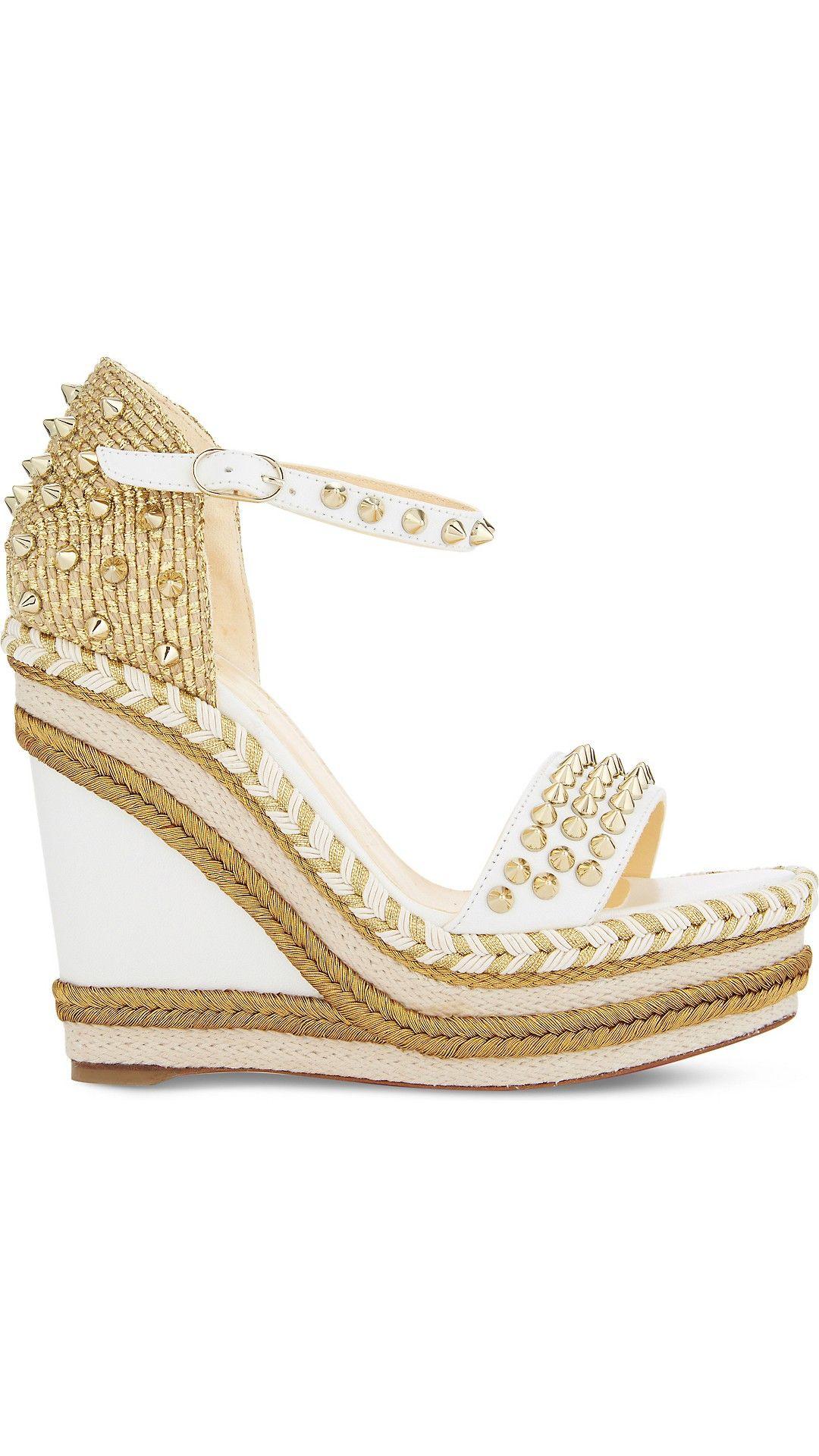 huge selection of 02887 24bfa Madmonica 120 nappa shiny | shoes | Shoes, Louboutin wedges ...