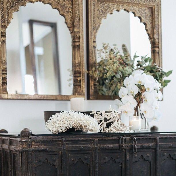 Instagram Post by MANYARA HOME (@manyarahome) | Arch mirror, Foyers ...