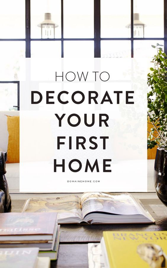 Decorating your first home? Here\'s where to start | life hacks ...