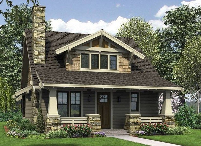 1920s Brick Craftsman House Plan,Brick.Home Plans Ideas Picture