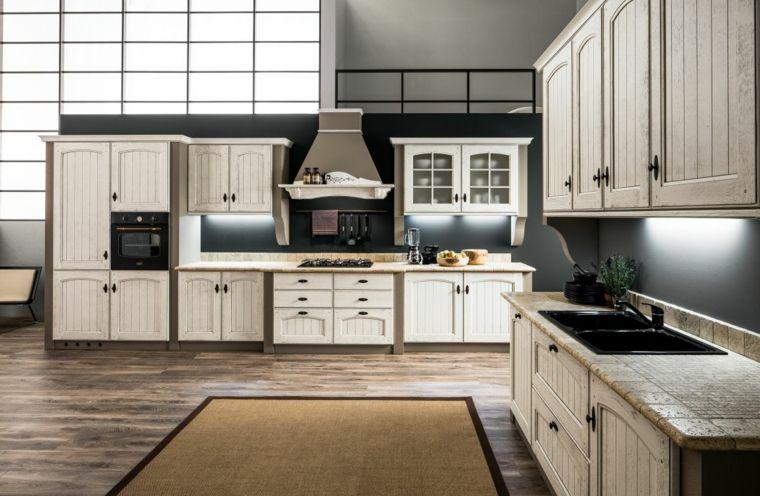 proposta moderna per cucina muratura con struttura tortora e ...