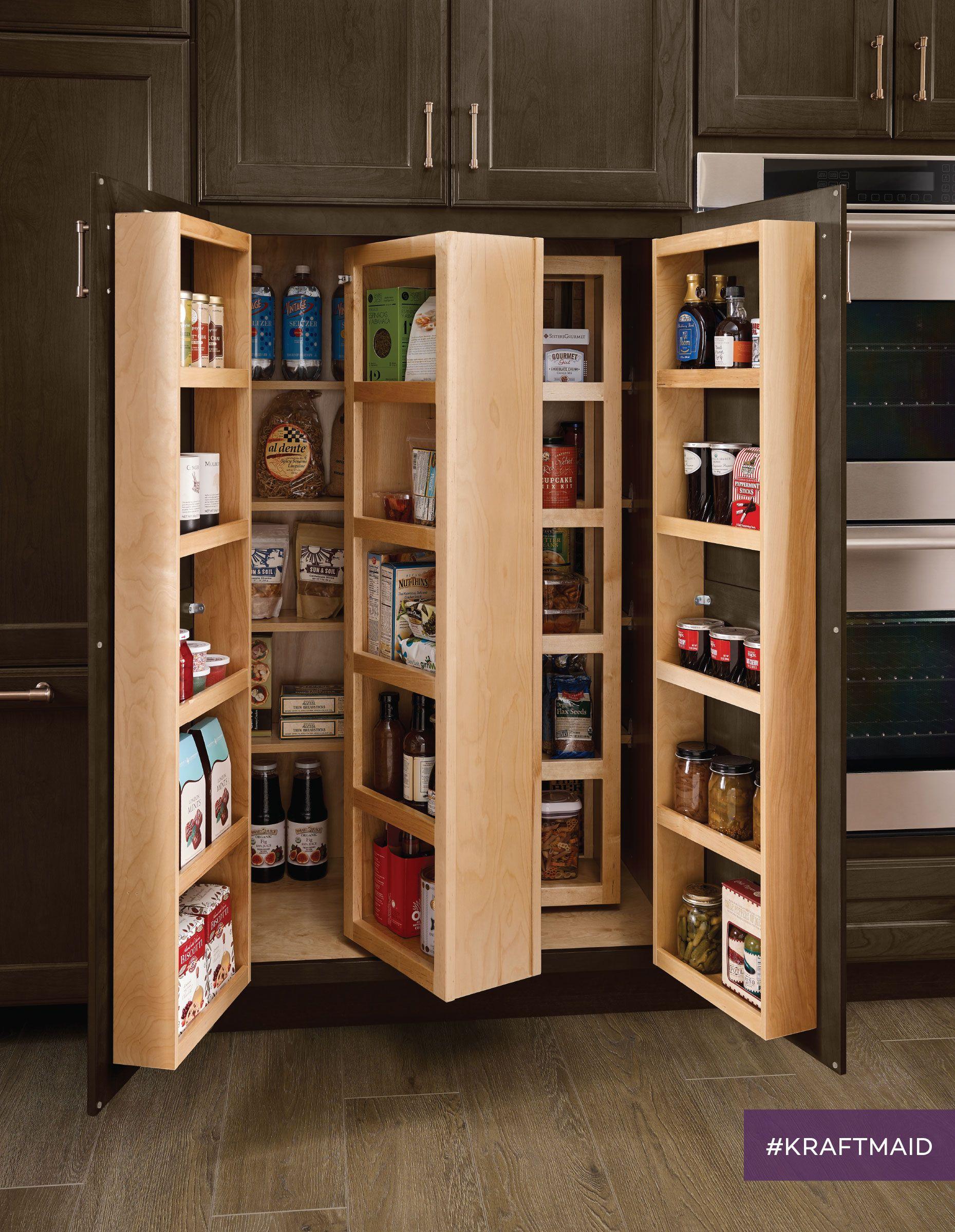 Multi Storage Pantry Design Kitchen Pantry Design Kitchen Innovation