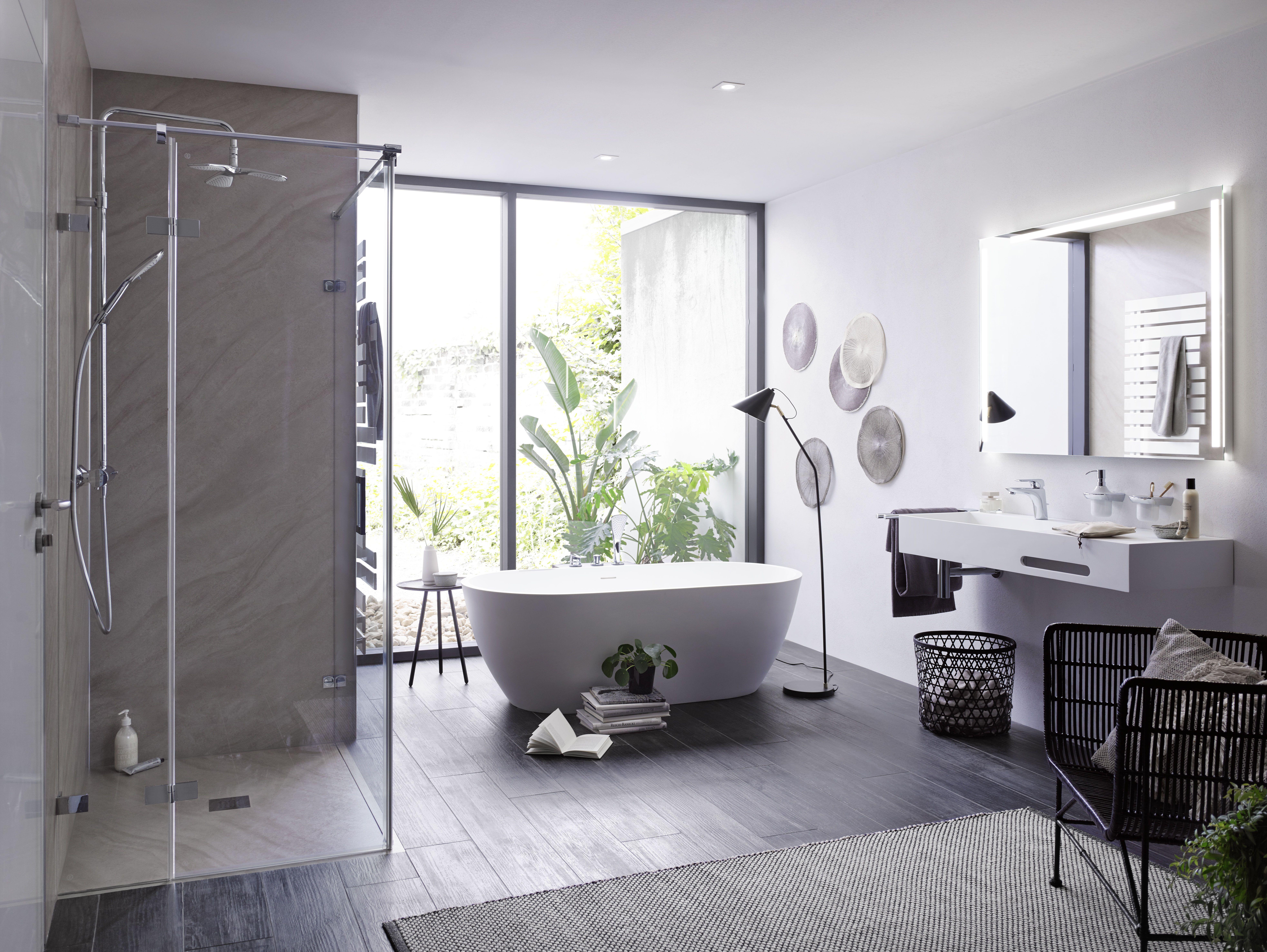 Moderne Len Günstig unsere freistehende mineralguss badewanne in einem wunderschönen