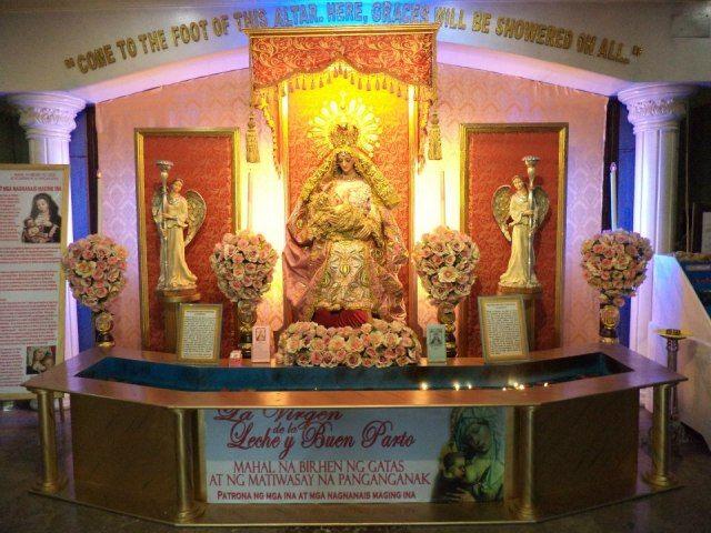"""""""AT THE HOSPITAL LOBBY San Juan de Dios Hospital Pasay city, Metro Manila  August 17, 2012"""" - La Virgen de la Leche y Buen Parto, Facebook Group"""