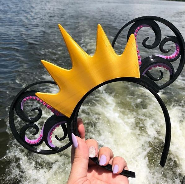 Beautiful Ursula Minnie Ears And Other Fierce Faves #disneycrafts