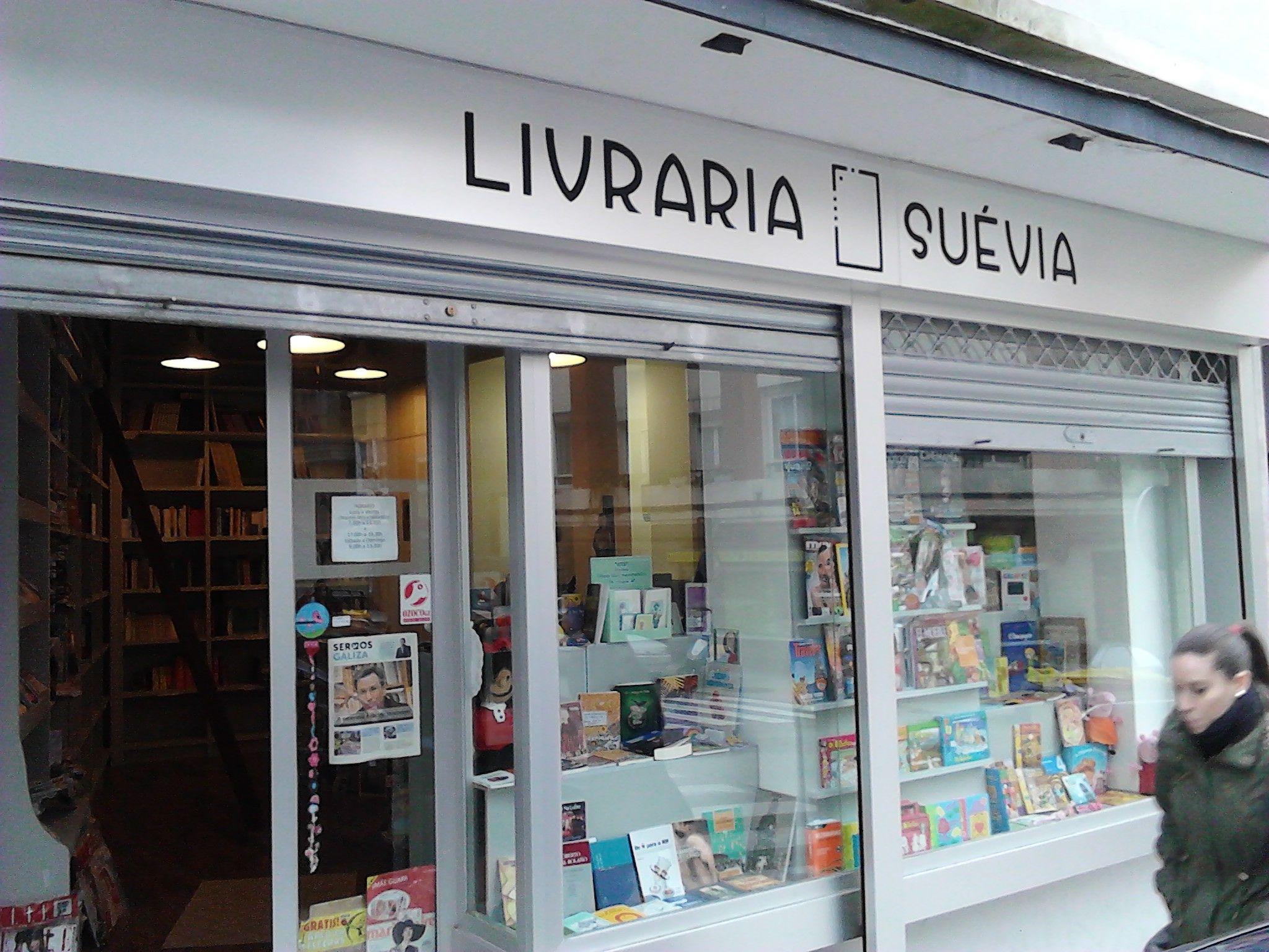Vila Morena - Libraría Suévia, A Corunha.