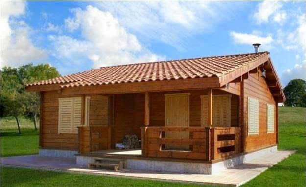 Casas De Madera Antiguas