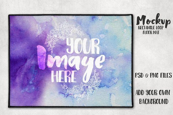 Download Floor Mat Mockup - Sublimation Loop PSD Mockup Free ...