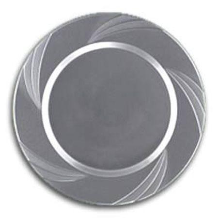 10.75  Newbury Silver Plastic Dinner Plates 150/$145  sc 1 st  Pinterest & 10.75