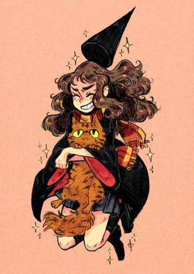 Harry Potter Tumblr Garri Potter Risunki Germiona Grejndzher