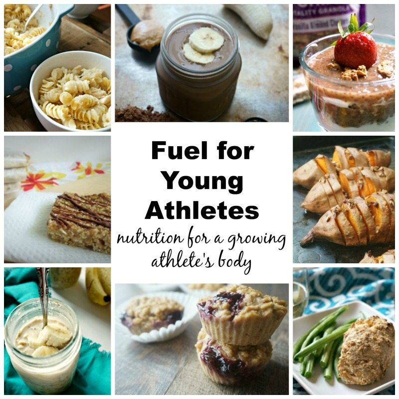 Fuel for Young Athletes: What to feed a growing athlete #athletefood