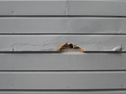 Rotted Wood Repair To Fix Damaged Siding Wood Repair Wood Siding Exterior Siding Repair
