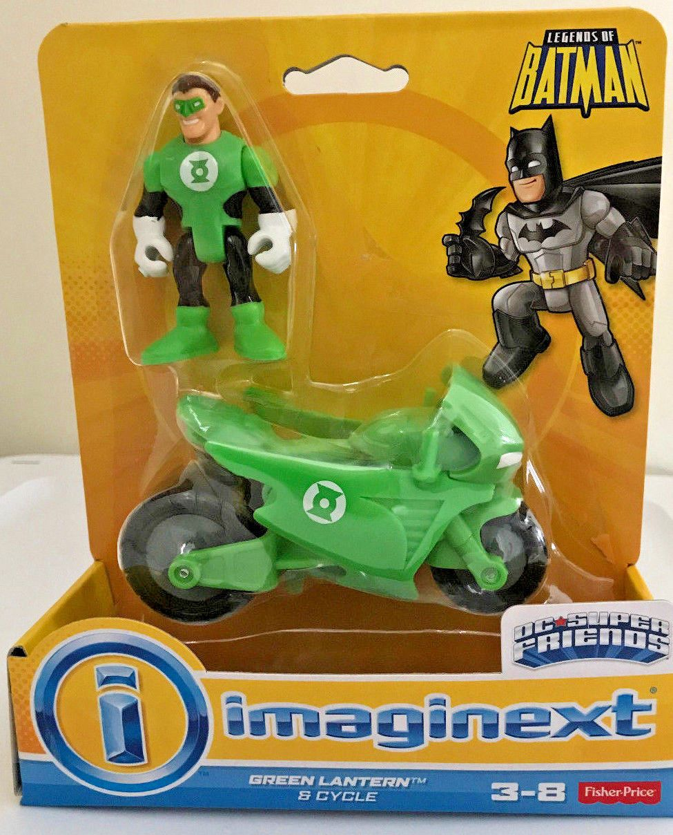 New Fisher-Price Imaginext DC Super Friends Justice League Green Lantern Figure