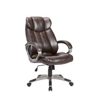 For Brown Powder Coated Adjule Swivel Office Chair Get Free Delivery