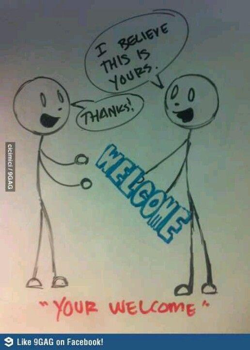 Haha! Grammar