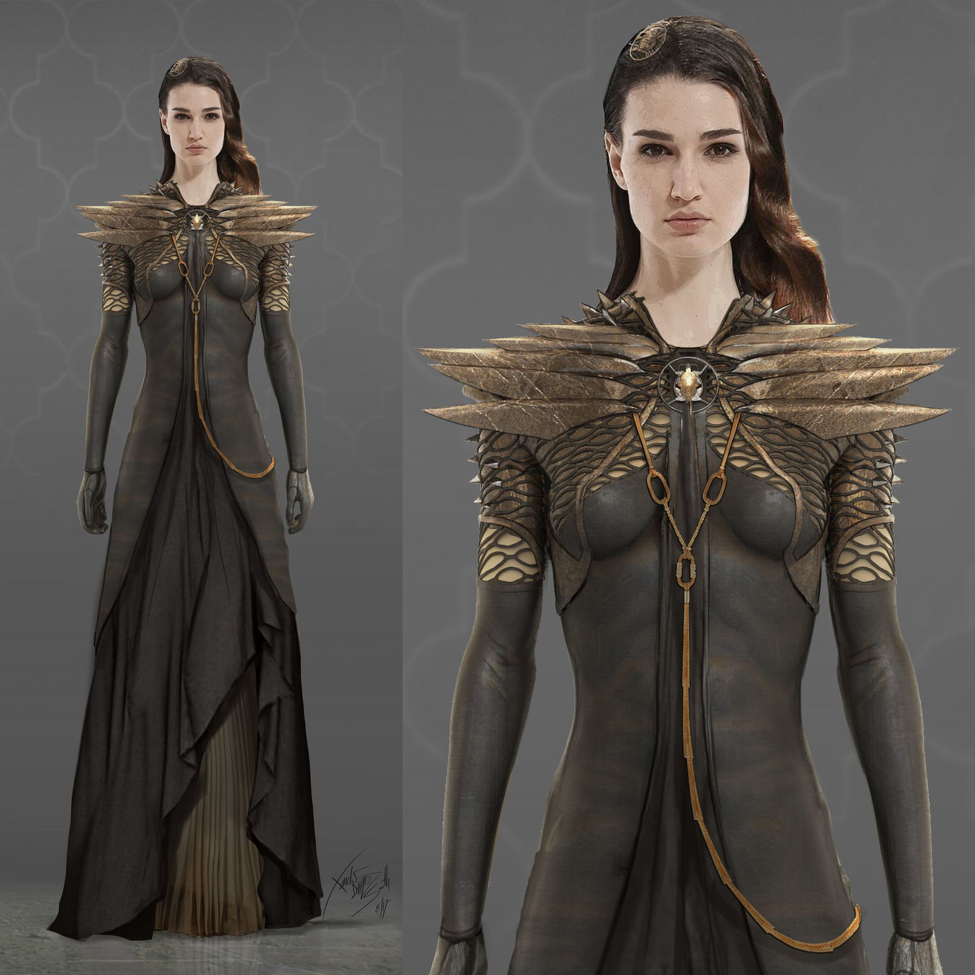 Artstation Fantasy Costume Designs Xander Smith In 2019
