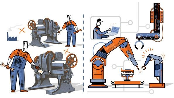 A third industrial revolution   Manufacturing Now and Then ...