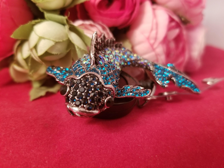 Oh So Koi Fish ID Reel with Swivel Alligator Clip Koi