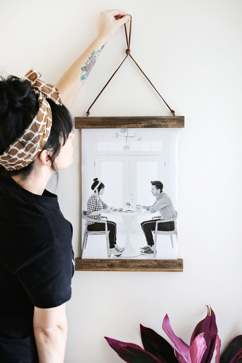 DIY Poster Hanger | DIY | Pinterest | DIY, Diy frame and Hanger
