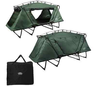 Oversized Tent Cot K& Rite Green Outdoor Ca.  sc 1 st  Pinterest & Oversized Tent Cot Kamp Rite Green Outdoor Ca... | Cool Camping ...
