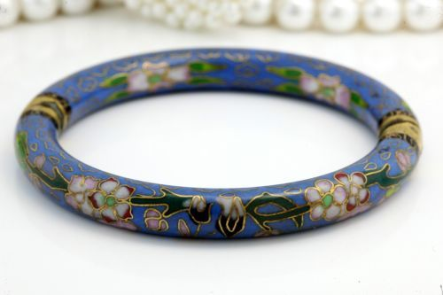 Antique C. 1920 Deco Cloisonne Enamel Chinese East Asian Hinged Bangle Bracelet! in Jewelry & Watches, Vintage & Antique Jewelry, Fine, Art Nouveau/Art Deco 1895-1935, Bracelets | eBay
