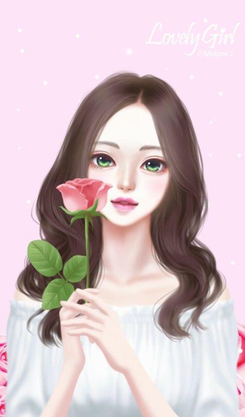 art, art girl, background, beautiful, beautiful girl ...