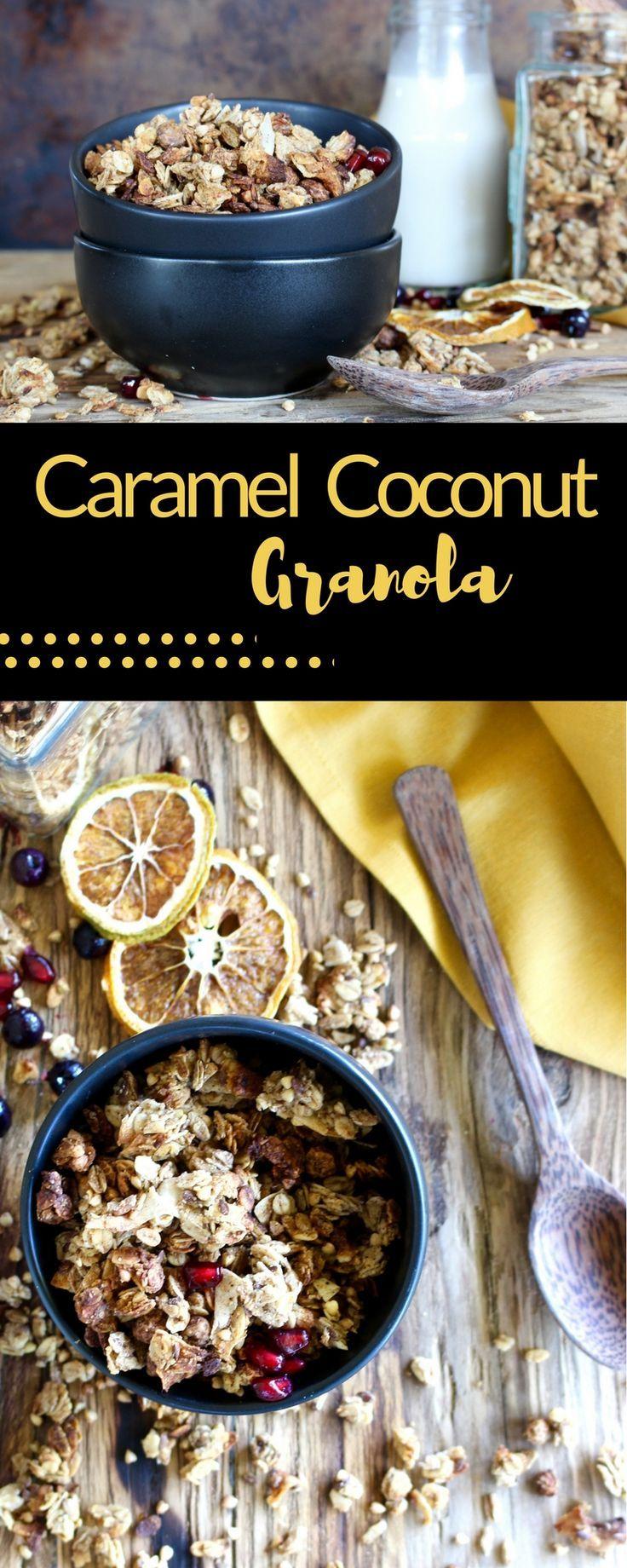 Granola coconut date caramel breakfast vegan granola make granola coconut date caramel breakfast vegan granola make this healthy ccuart Image collections