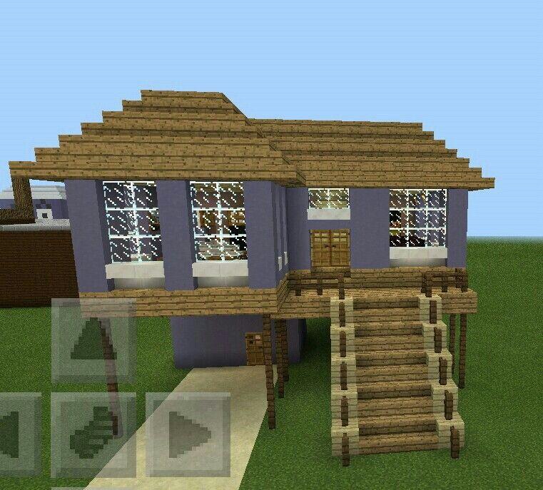 how to build a minecraft beach house