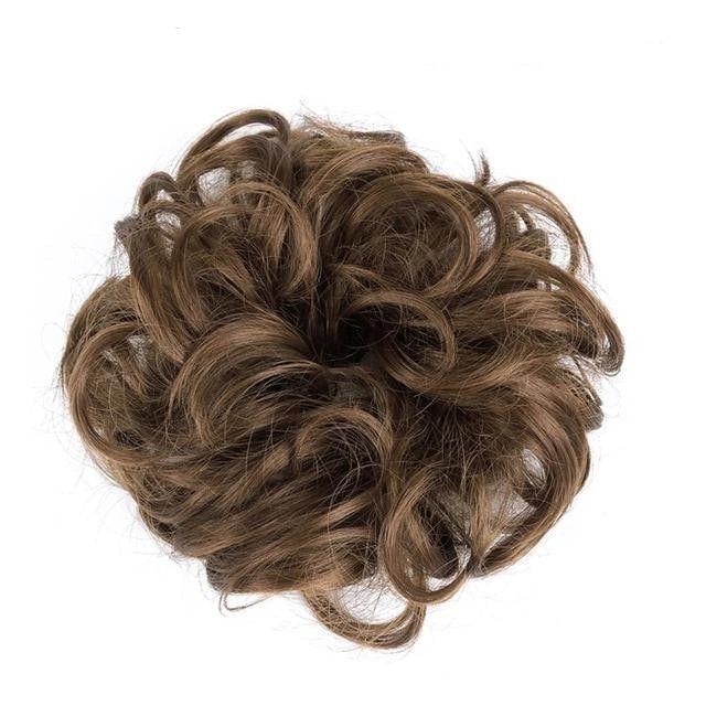 Messy Bun Page 1 | Coiffure facile, Chignon bouclé, Pousse des cheveux